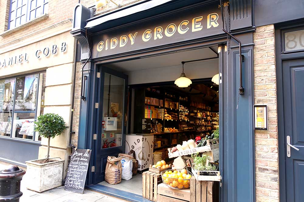 Giddy Grocer