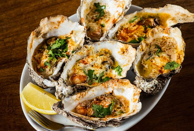 Chargrilled oyster kit from Decateur