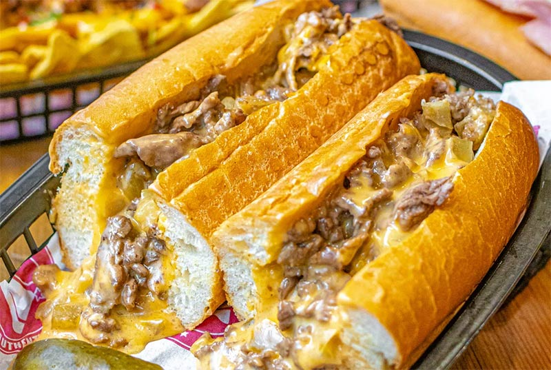 Philly cheesesteaks from Passyunk Avenue