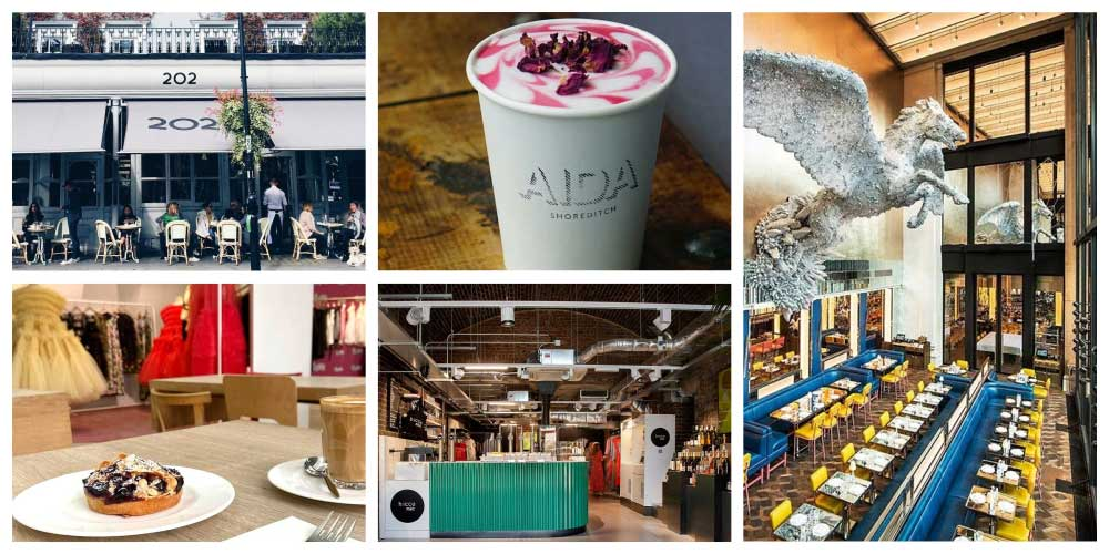London's most fashionable instore cafes and restaurants