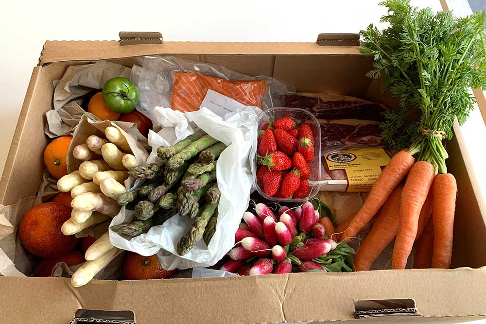 best grocery deliveries in london