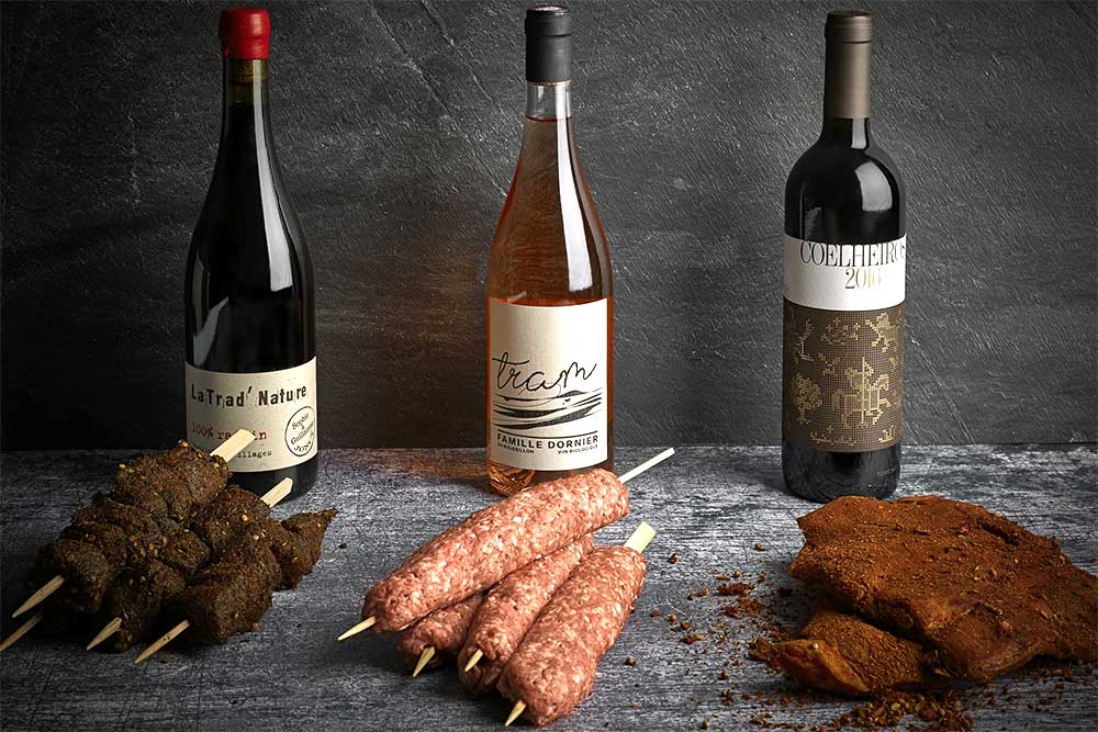 Ethical Butcher & Borough Wines paired BBQ box