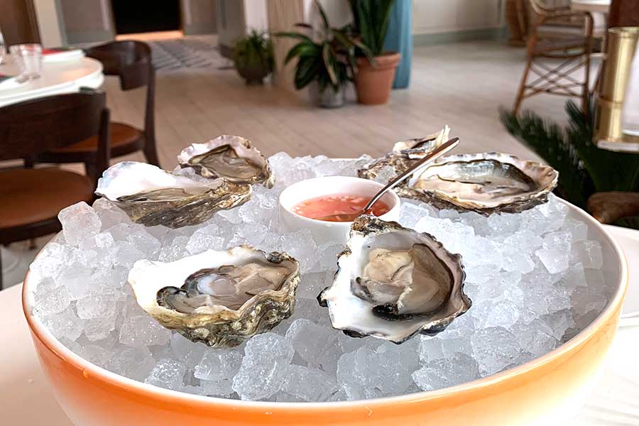 seabird london for oysters