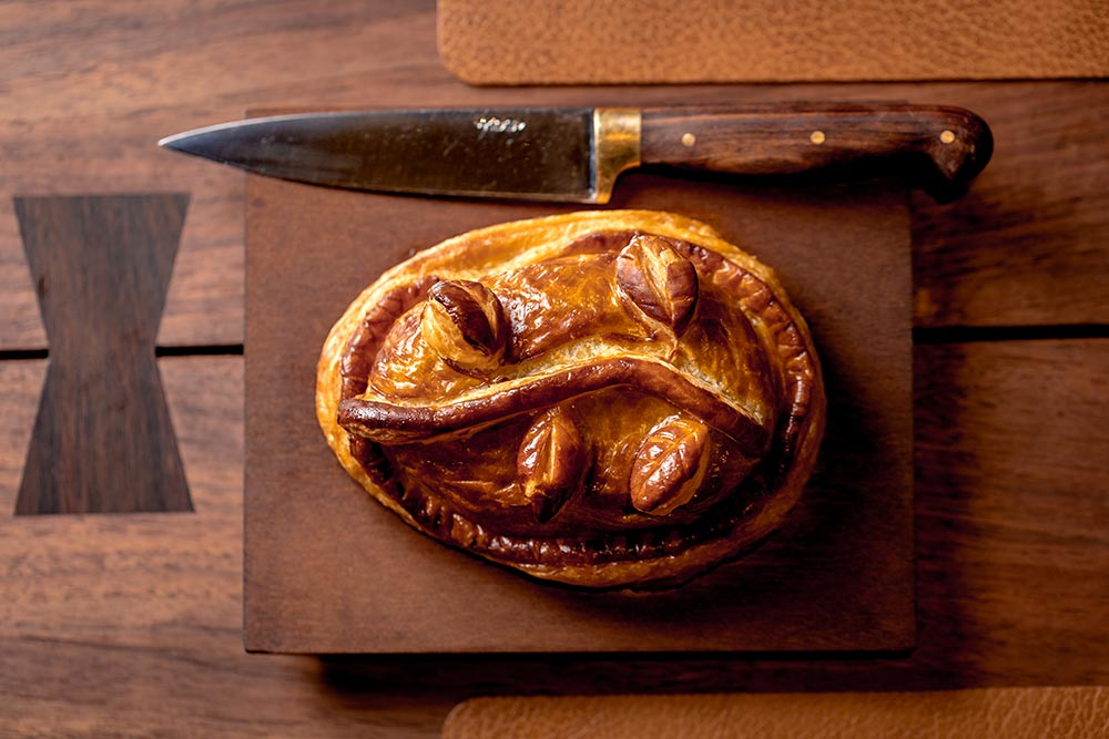 The daily pie at The Connaught Grill