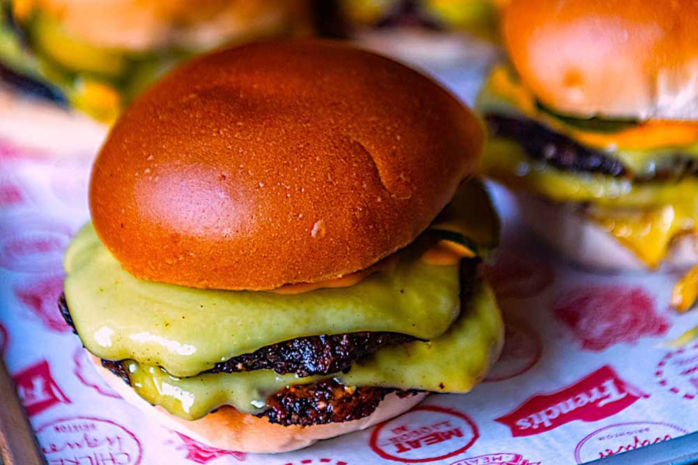 london's best veggie burgers deliveries