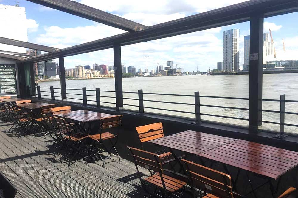 best waterside restaurants london