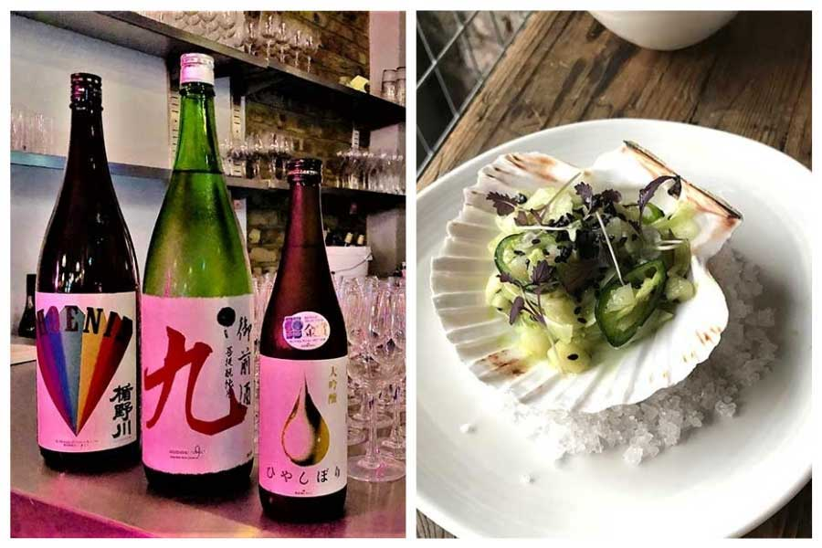 sake and seafood popup shoreditch