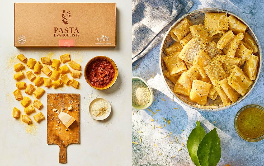 Try pasta by post service Pasta Evangelists with 30% off your first order