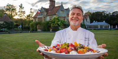 Raymond Blanc has a TV show Simply Raymond Blanc to accompany his new book
