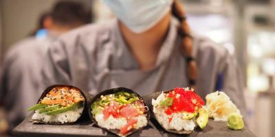 Panzer's are having a pop-up sushi hand roll stall this weekend