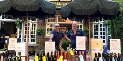 Highgate's The Red Lion & Sun bosses lockdown with deliveries starting to local parks