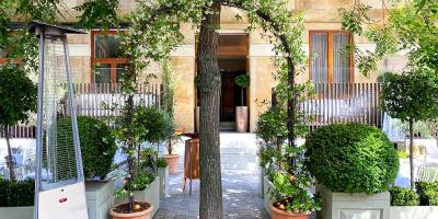 Test Driving The Garden at The Berkeley - an alfresco Mediterranean feast