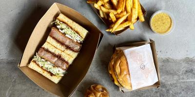 Tou are popping up with Iberian katsu sandos in Soho & there are sando kits too
