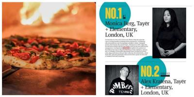 London's pizza joints and cocktail bars win big on the world stage