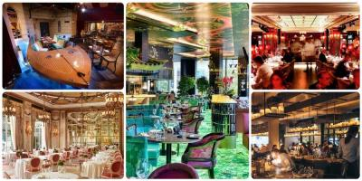 London's most beautiful and glamorous restaurants -  top places to go for a big night out