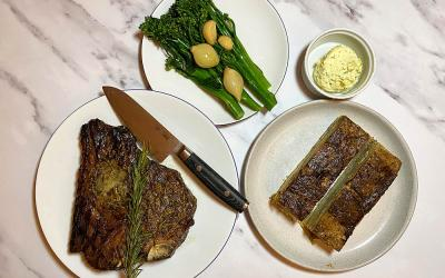 Test Driving the Jones & Sons steak night delivery meal kit