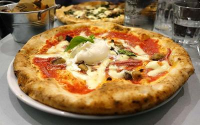 Test Driving Santa Maria Fitzrovia - a classic pizzeria comes into the centre of town