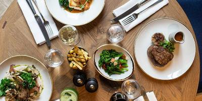 Get 50% off your food bill at Percy and Founders