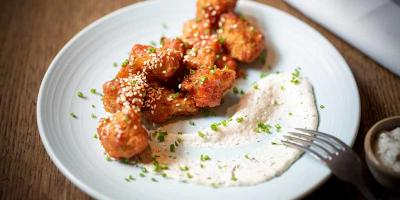 Get a meal deal for £18 at Rake's plus free sriracha sesame cauliflower wings