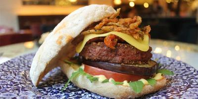 "Try Hachè's new vegan burger ""Beyond Le Fumé"" with 50% off all vegan burgers"