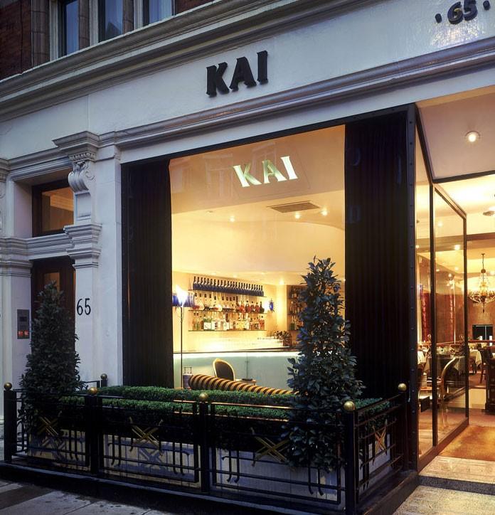 Kai Restaurant London Michelin
