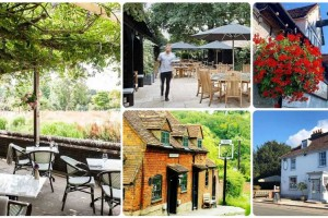 The best countryside pubs for food (fairly) near London