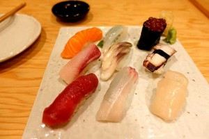 Japanese tapas and sushi - we Test Drive Cubé