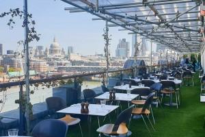 The very best restaurants in London for eating alfresco