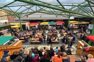Test Driving Borough Market Kitchen - the market's open-air food court